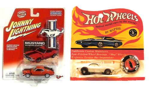 Scale Model Supplies stocks Hot Wheels and Johnny Lightning die cast cars!
