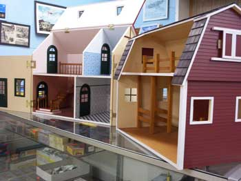 Modern dollhouses are available at Scale Model Supplies.